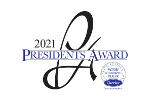 Carrier Presidents Award 2021